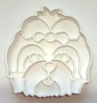 Shih Tzu Dog Face Detailed Small Toy Breed Cookie Cutter USA PR3841 - $2.99