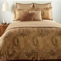Ralph Lauren VERDONNET Paisley Camel full queen duvet cover NEW NIP - $227.00