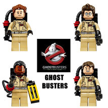 4 pcs Ghostbusters Movie minifigures building toys blocks fit lego - $19.00