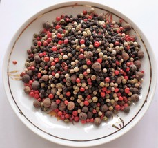 5 Peppercorns Rainbow Mixed With Allspice Honduras 2 Oz - 2 Lb Resealable Bag - $6.89+