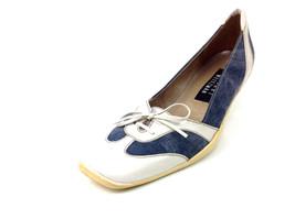 """Stuart Weitzman Womens Heels """"Picket"""" Stonewash Navy Size 5.5 M - $59.39"""