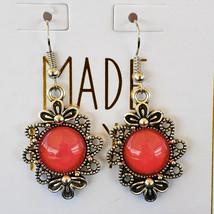 Pink Dangle Earrings - $25.00