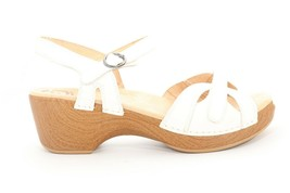 Dansko Season Full Grain Wedges Sandals White  EU 41  ($) - $121.20