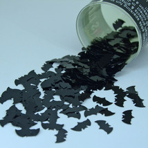 "Bat 3/8"" Black Tabletop Confetti Bag 14 gms CCP9385 FREE SHIPPING - $3.95+"