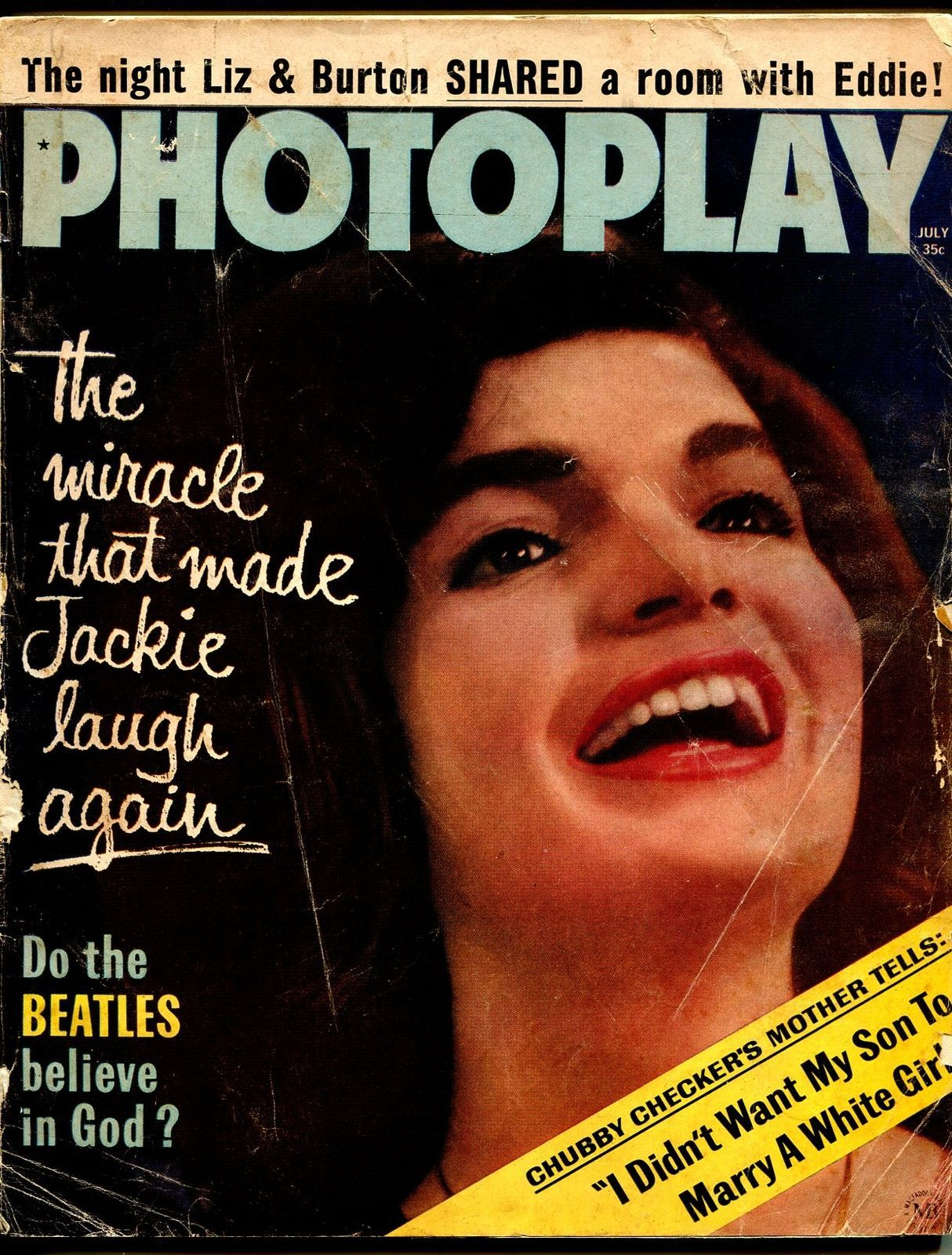 SEPT 1964 PHOTOPLAY movie magazine JACKIE KENNEDY Paper Collectibles