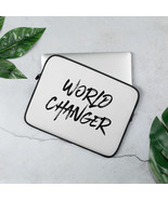 World Changer- Laptop Sleeve (was born to change the world) - $21.60+