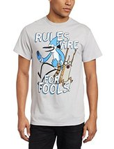 "NEW Fifth Sun Men's ""RULES ARE FOR FOOLS"" Quote... - $10.95"