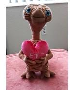 ET Plush Heart Pre Owned Universal Studios - $34.99