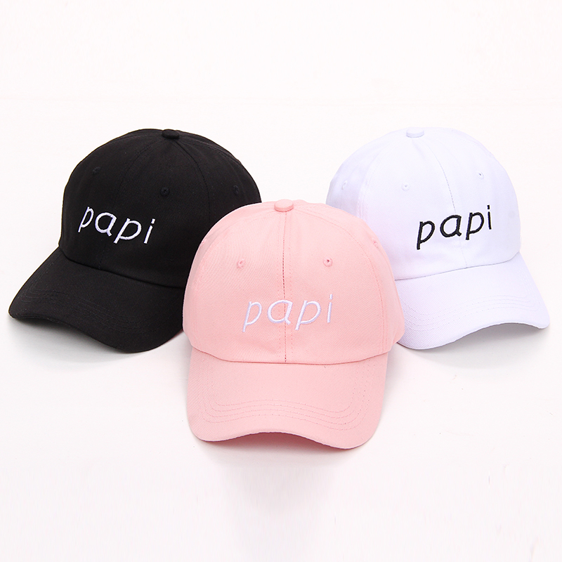 2b950b75665 ... Papi Baseball Cap Hat Dad New Colors Black Unstructured Adjustable All  Men Style ...