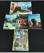 Vintage Lot of 6 Ford Times Magazines  1965-1967 - $13.53