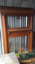 Antique Quartersawn Oak Fireplace Surround - $300.00