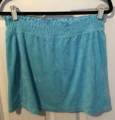 Curve Blue Stretch Skirt Size Medium
