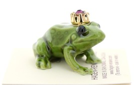 Hagen-Renaker Miniature Ceramic Frog Figurine Birthstone Prince 02 February image 2