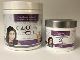 Set Colageina 10 Crema Anti Edad+Colageno POLVO/ANTI-AGING Cream+Collagen Powder - $43.51