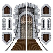 Castle Door & Window Props Party Accessory 1 count 9/Pkg - €6,43 EUR