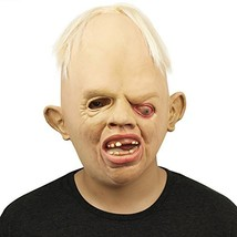 BengPro Novelty Latex Rubber Creepy Scary Ugly Baby Head The Goonies Slo... - £16.64 GBP