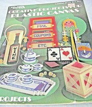 Leisure Arts 13 Creative Needlepoint Projects for Plastic Canvas Leaflet #213  - $4.94