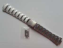 Genuine Replacement Watch Band 17mm Stainless Steel Bracelet Casio EFA-1... - $28.60