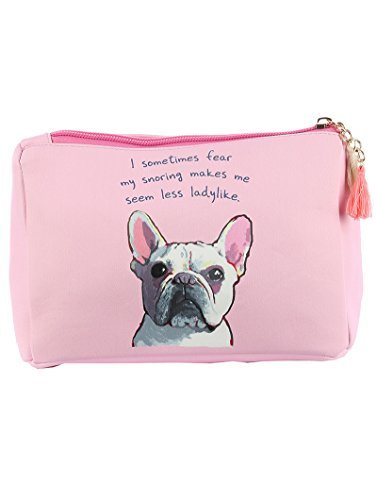 French Bulldog Cosmetic Makeup Bag or Pouch Wallet