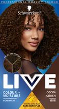 Schwarzkopf Live Hair Dye Intense   Moisture Colour COCOA CRUSH M06 - $14.89