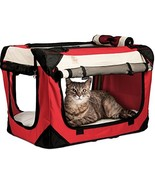 PetLuv Happy Pet Cat & Dog Crate & Carrier Premium Soft Sided Foldable T... - $81.83