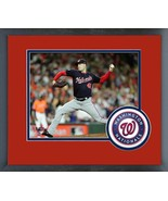 Patrick Corbin Game 7 of the 2019 World Series-11x14 Logo Matted/Framed ... - $42.95