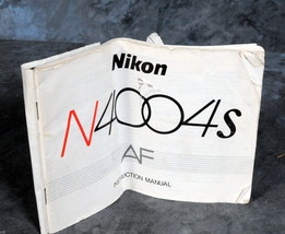 Nikon Camera N4004s AF Manual Guide Genuine - $4.00
