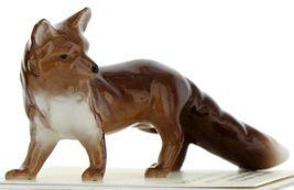 Hagen Renaker Miniature Wildlife Fox Family Mama, Papa & Baby 3 Piece Set image 8