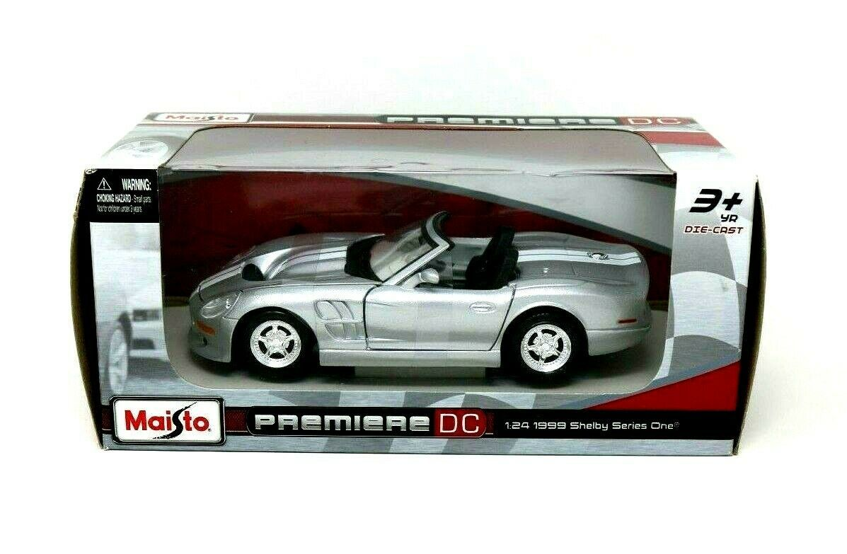 Maisto Premiere DC 1:24 1999 Shelby Mustang Series 1 Die Cast Car Original Box