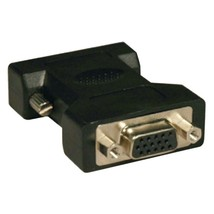 Tripp Lite P120-000 DVI to VGA Cable Adapter (DVI-I Analog Male to VGA HD15 Fema - $22.05