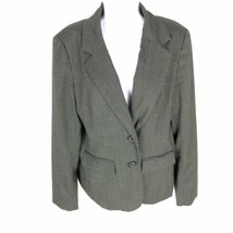 Banana Republic Women's Gray Blazer 14 - $24.74