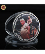 WR Putin Riding Trump Russia President Silver Challenge Coin Novelty Col... - $4.80