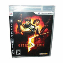 Resident Evil 5 (Sony PlayStation 3, 2009) complete ps3 - $8.92