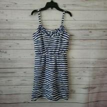 Ann Taylor LOFT Blue & White Sun Dress Womens Size 2 - $9.99