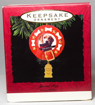 Hallmark: Special Dog - Photo Holder - 1993 Keepsake Ornament - $7.74