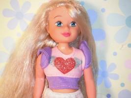Long Blonde Teen Heart Shirt Socks Underwear Lot - $6.92