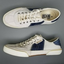 VTG Converse One Star Low Shoes Womens Size 8 White Blue Leather - $70.11
