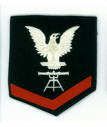 WWII, U.S.N. RATING, PETTY OFFICER, 3rd CLASS, FIRE CONTROL, RIGHT FACIN... - $8.86