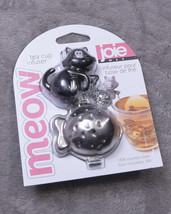 JOIE MEOW TEA CUP INFUSER  Black NWT NEW - £10.50 GBP