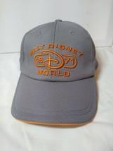 Disney Park Cap Walt Disney World 1971 Embroidery Adjustable Gray Orange... - €17,01 EUR