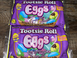 Tootsie Roll Eggs 2-Bags 7.5 oz. Each Easter Candy ~ Expires 03/2022 - $15.14