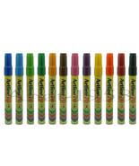 Artline EK-70 Waterproof Multi-Surface Permanent Markers - Mixed Colors ... - $19.16