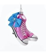 JoJo Siwa© Sneakers With Bow Glass Ornament w - $21.99