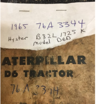 1965 Caterpillar D6C For Sale In Saint Peter, Illinois 62880 image 12