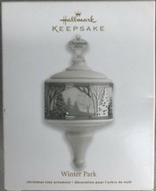 HALLMARK 2012 PORCELAIN & METAL ORNAMENT~WINTER PARK - $8.95