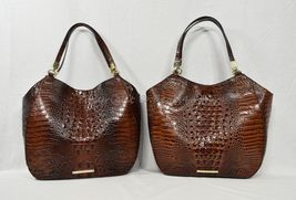 NWT Brahmin Thelma Tote / Shoulder Bag/Tote in Pecan Melbourne Embossed Leather image 11