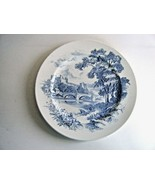 Wedgwood Blue & White Countryside Scenic Plate - $12.82
