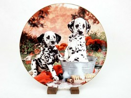 """""""You Missed A Spot"""" 1995 Dalmation Collector Plate, Hamilton Collection, #0542F - $13.67"""