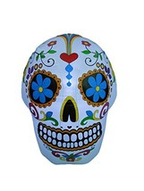 BZB Goods 4 Foot Halloween Inflatable Colorful Sugar Skull Decoration - $76.78