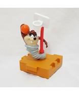 "Taz Looney Tunes Basketball Spinning Puzzle Piece 1996 Warner Bros 4"" - $14.99"